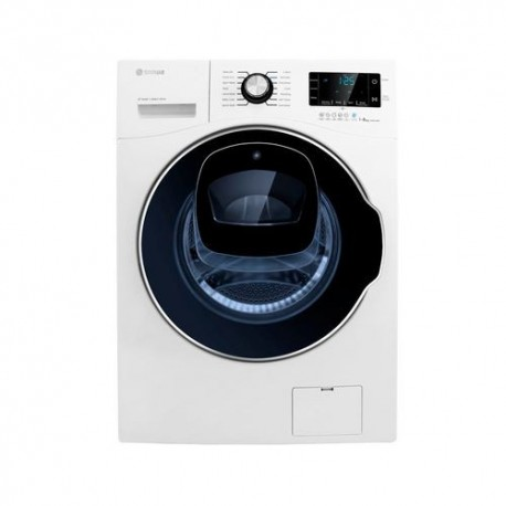ماشین لباسشویی سفید درب از جلو اسنوا مدل SWM 842 سری WASH IN WASH