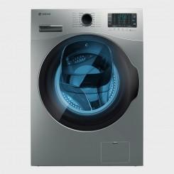 ماشین لباسشویی نقره ای درب از جلو اسنوا مدل SWM 843 سری Wash in Wash